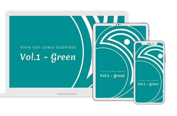 vivre son coeur business - vol1. Green - audio méditation et visualisation Valerie Demont green heart business